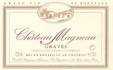 chateau_magneau_graves - Graves - Bordeaux Wine - Fine French wine by the case. Wedding Wine, Wine Gifts, Wine Delivery, Corporate Gifts, Retirement Gifts, Wine Offers.