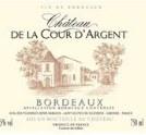 De la Cour d'argent - Bordeaux Red Wine - Wine Gifts - Wedding Wine - Case of Wine